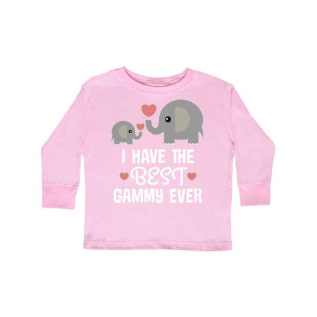 Best Gammy Ever Grandchild Gift Toddler Long Sleeve