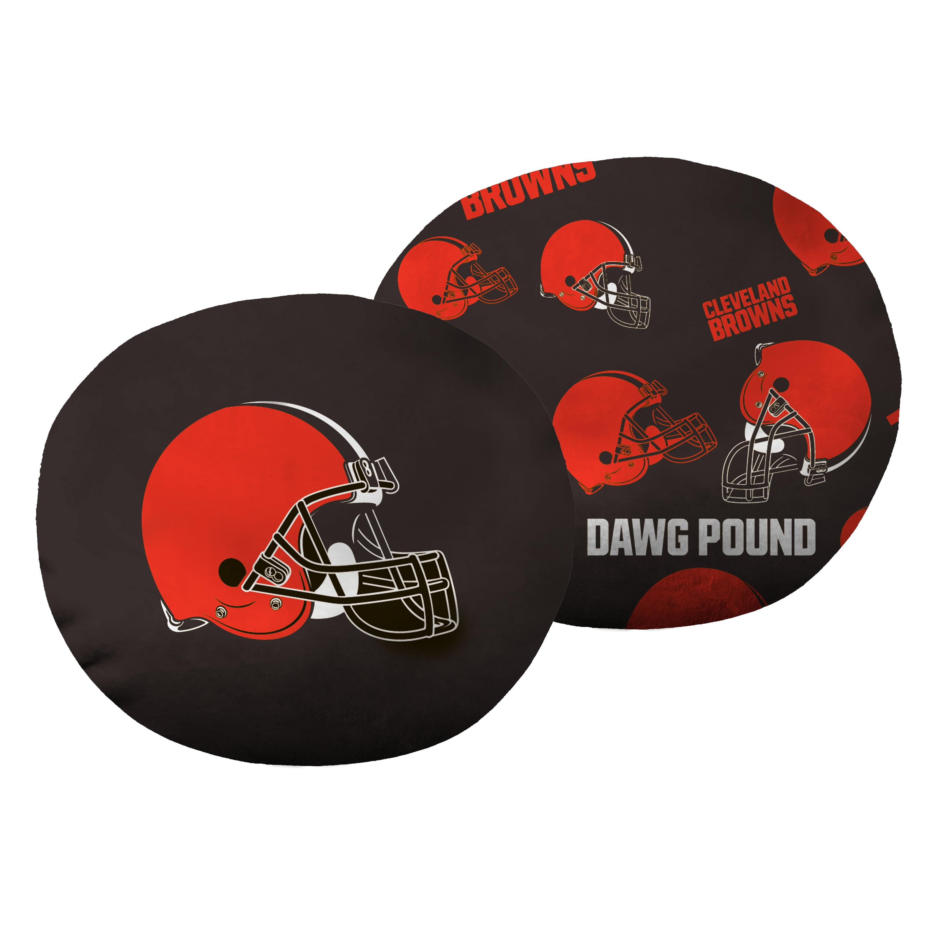 """NFL - Cleveland Browns, 11"""" Cloud Pillow"""