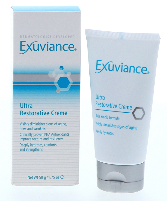 exuviance ultra restorative creme recension