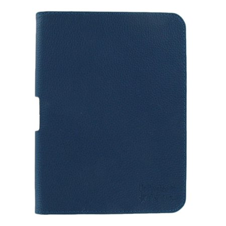 Unlimited Cellular Leather Flip Book Case Folio For Kindle Fire Hd 7     2012 Version  Blue