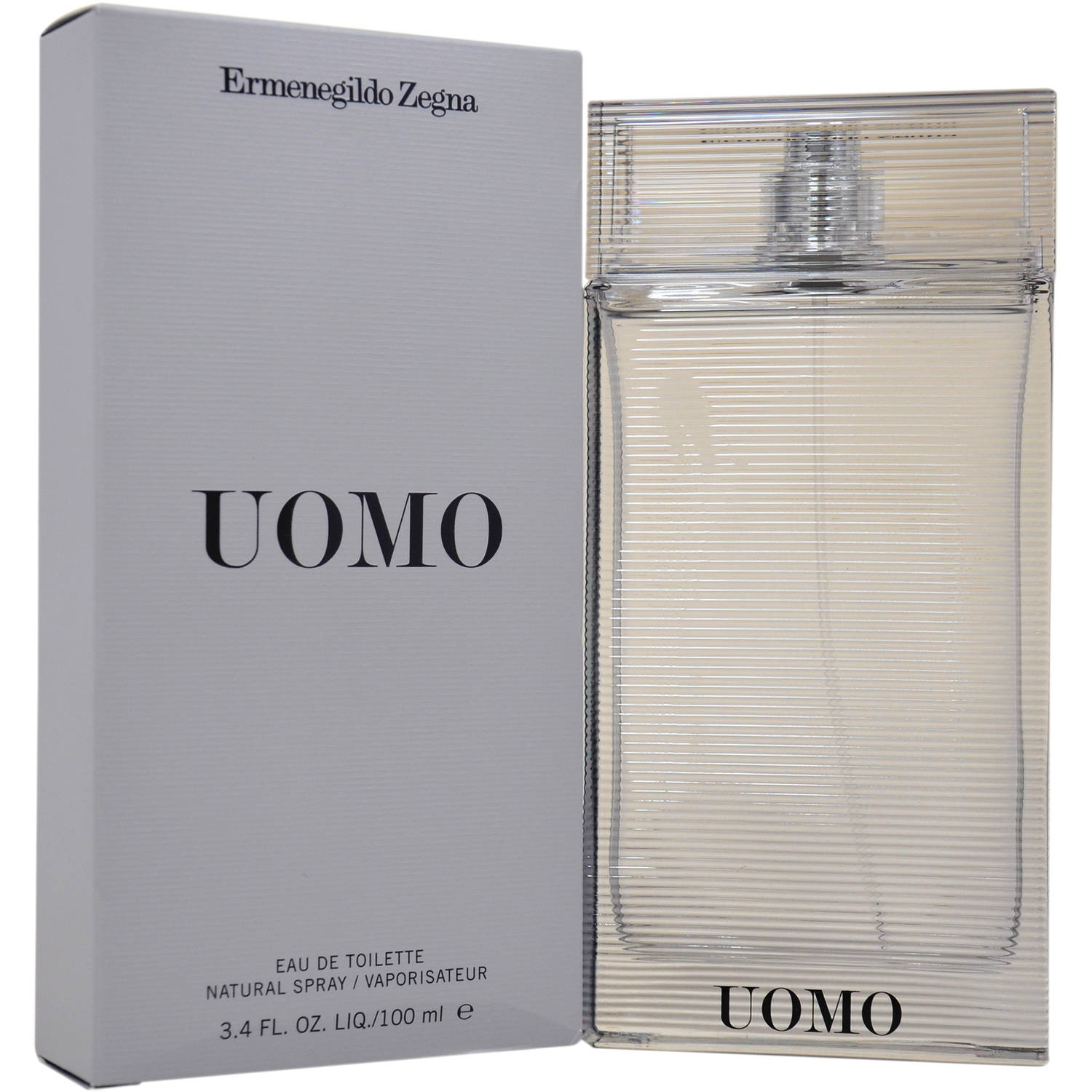 Ermenegildo Zegna Zegna Uomo EDT Spray for Men, 3.4 oz