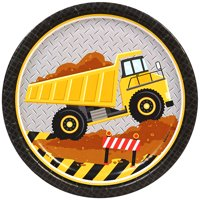 Construction Party Supplies 48 Pack Lunch Plates