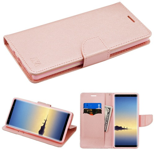 For Samsung Galaxy Note 8 MyJacket Stylish Flip Wallet Phone Case w/ Card Slot