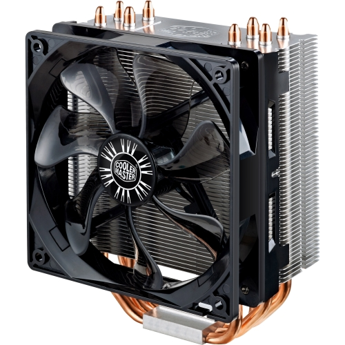 Cooler Master USA RR-212E-20PK-R2 Cooler Master Hyper 212 EVO RR-212E-20PK-R2 Cooling Fan/Heatsink - 1 x 120 mm - 2000 rpm - Long Life Sleeve Bearing - Socket R LGA-2011, Socket B LGA-1366, Socket H