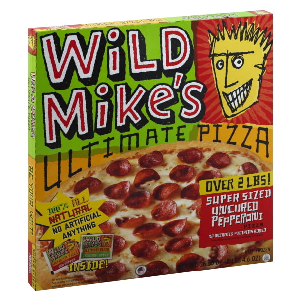 Wild Mike's Uncured Pepperoni Ultimate Pizza Super Sized ...