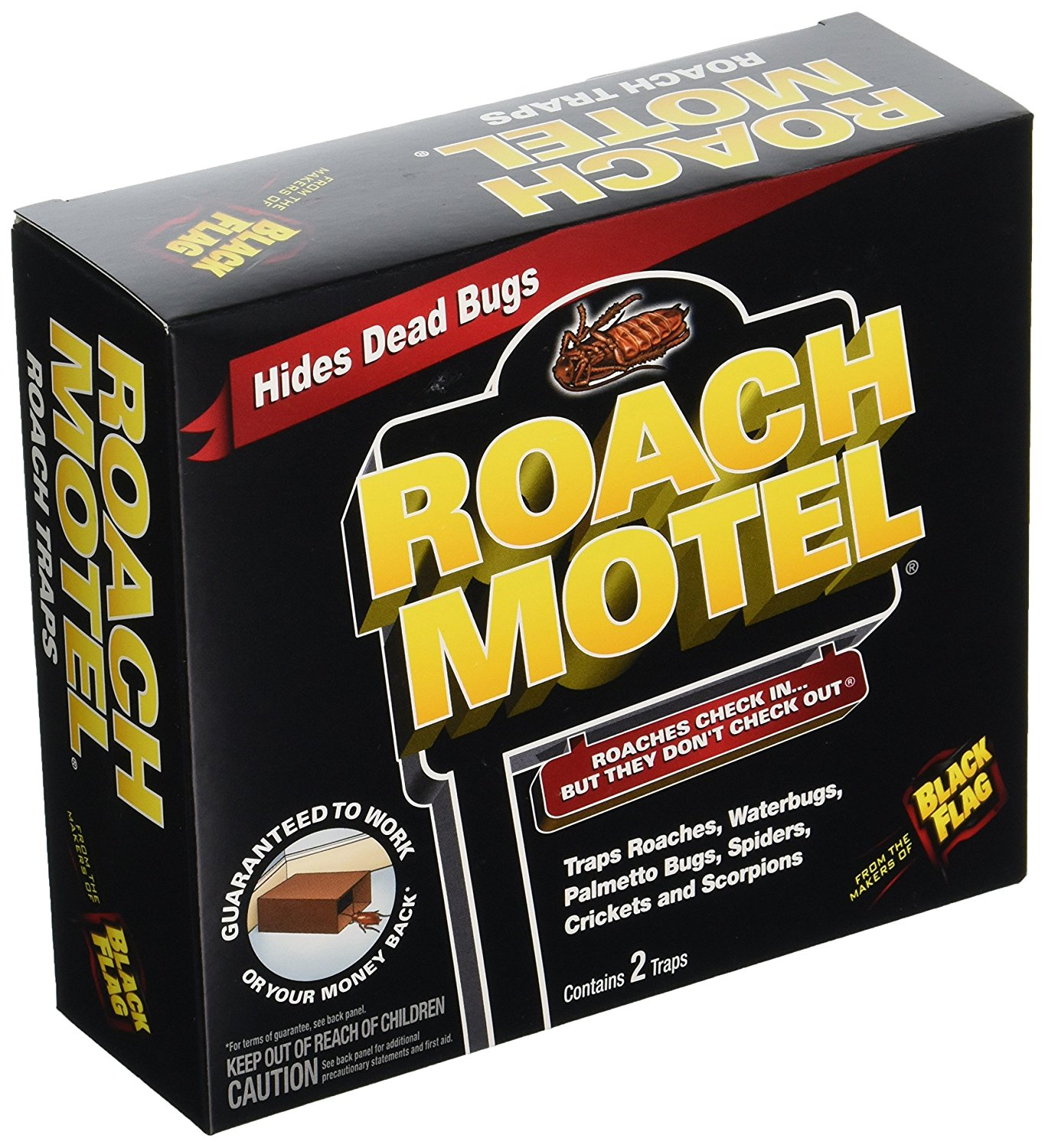 Roach Motel 61009 (12x2 pack total of 24 small boxes) By ...