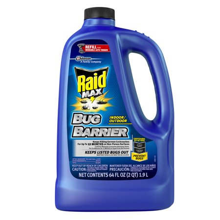 Raid Max Bug Barrier Trigger Refill 64 Fluid