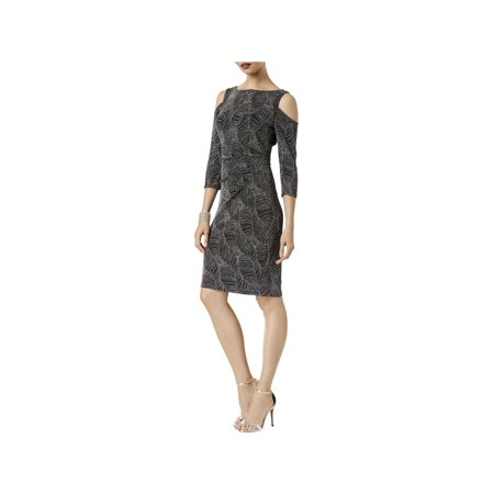 Sangria Womens Cold Shoulder Party Cocktail -