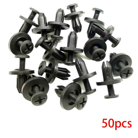 Holiday Time Auto Bumper Fastener Rivet Retainer Push Engine Cover Fender Car Door Trim Panel Clip Fasteners for Toyota