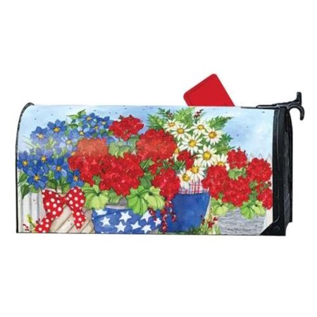 Magnet Works MailWrap Patriotic Floral Meets US Postal requirements By