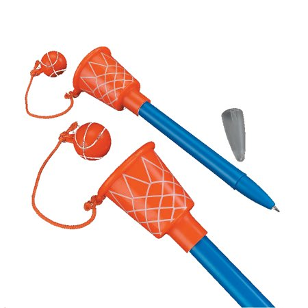 Basketball Hoop Pens (12 Count) for $<!---->