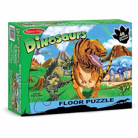 Melissa Doug Land Of Dinosaurs Floor Puzzle Pcs Feet Long - Melissa and doug floor puzzle