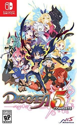 Disgaea 5 Complete, Sega, Nintendo Switch, 813633019215