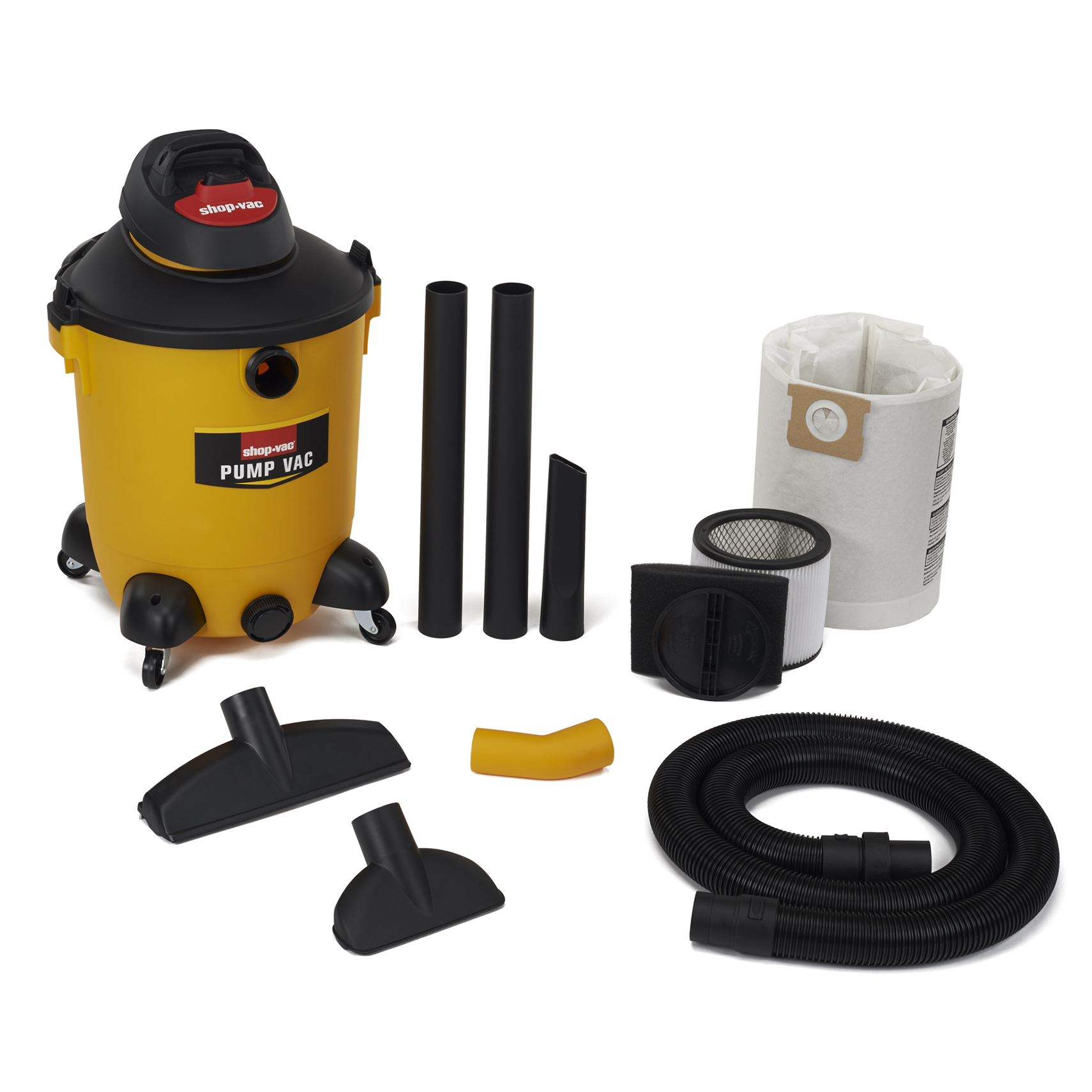 Shop Vac 582-14-00 14 Gallon 6 PHP Wet/Dry Pump Vacuum