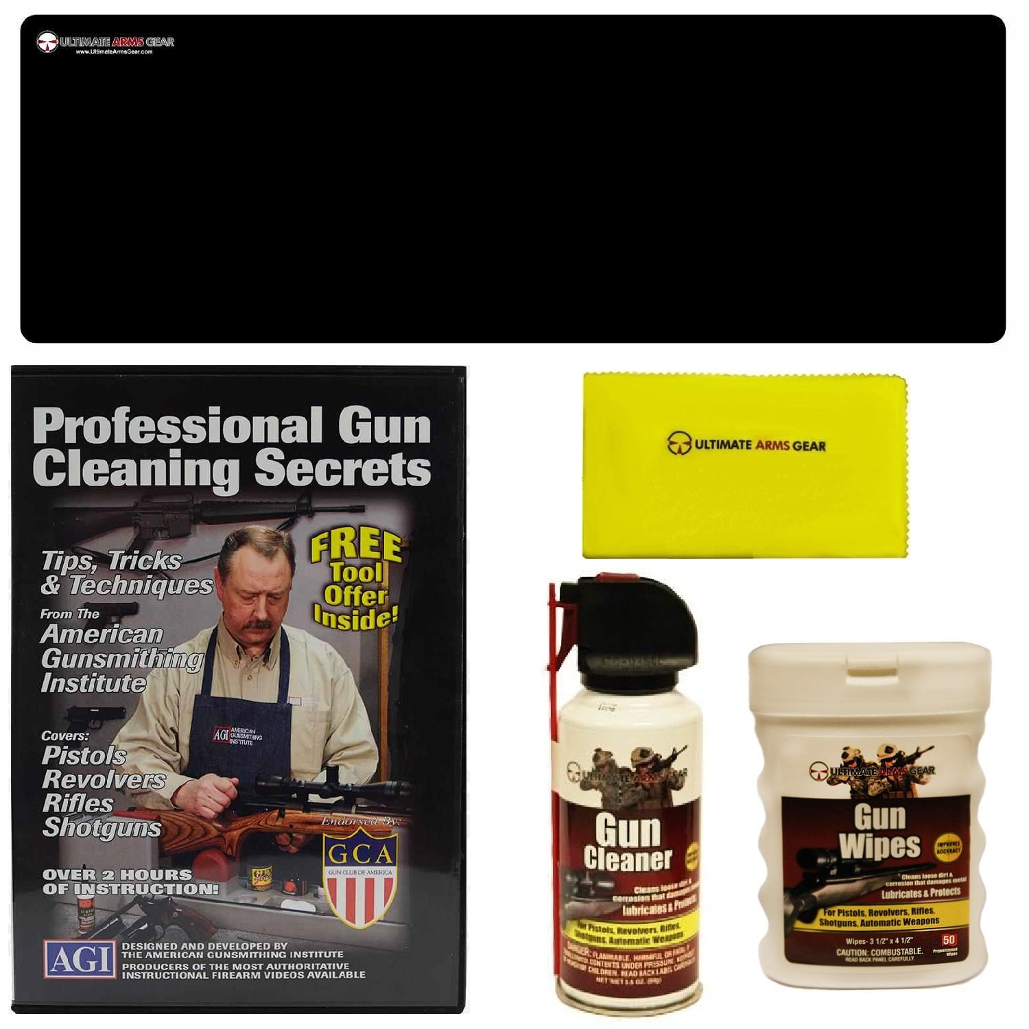 AGI DVD Professional Gun Cleaning Course Secrets SIG SAUER SIG556 5.56 Rifle + Ultimate Arms Gear Gunsmith & Armorer... by