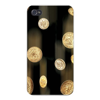 Apple Iphone Custom Case 4 4s Plastic Snap on - Coin Money Quarter, Dime & Penny East access to all buttons and ports