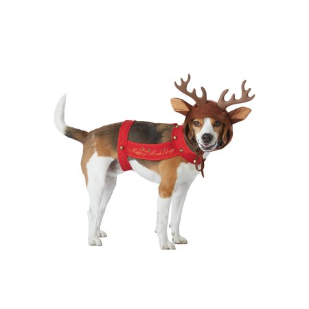 Reindeer Pet Costume - Costumes For Pet Hedgehogs