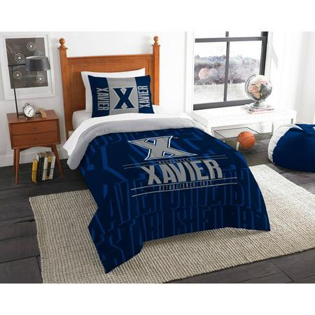 "NCAA Xavier Musketeers ""Modern Take"" Bedding Comforter Set"