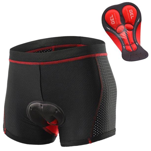 Men Cycling Underwear Shorts Breathable Gel Padded MTB Biking Riding Shorts