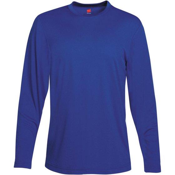 be2da9e5ef2f Hanes - Sport Mens Cool DRI Performance Long Sleeve Tshirt (50+ UPF ...