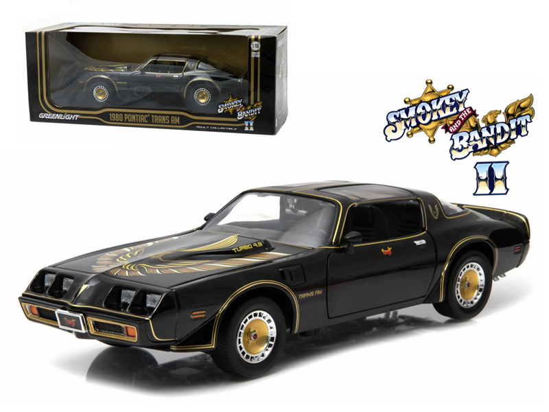 1980 Pontiac Trans Am Turbo 4 9l Smokey And The Bandit 2 Movie Car 1 18 Cast Model By Greenlight