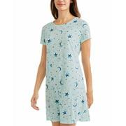 Ladies' Graphic Short Sleeve V-Neck Sleep Shirt