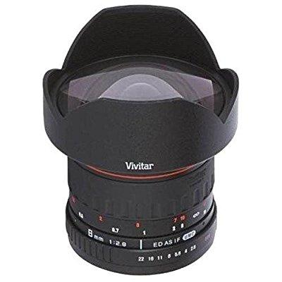 Vivitar 8mm f/3.5 Fisheye Lens (for Canon EOS Cameras)