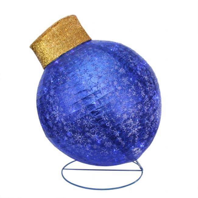 Northlight Seasonal 31729541 Pre-Lit Twinkling LED Blue G...