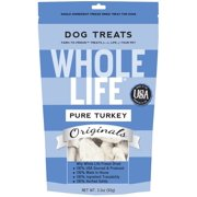 Whole Life Originals Grain-Free Pure Turkey Pet Treats, 3.3 Oz