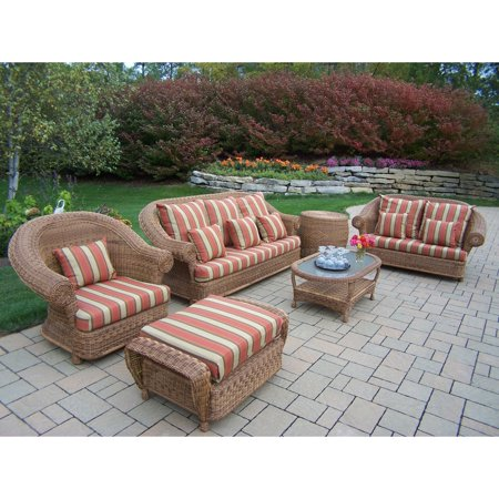Wicker Conversation Double Pillows