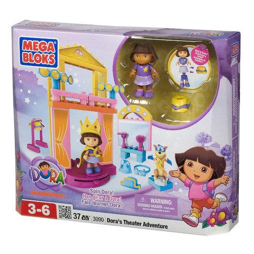 Mega Brands Nickelodeon Dora the Explorer Theater Adventure