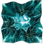Angelstar Sapphire Floral Ripple Plate (Set of 3)
