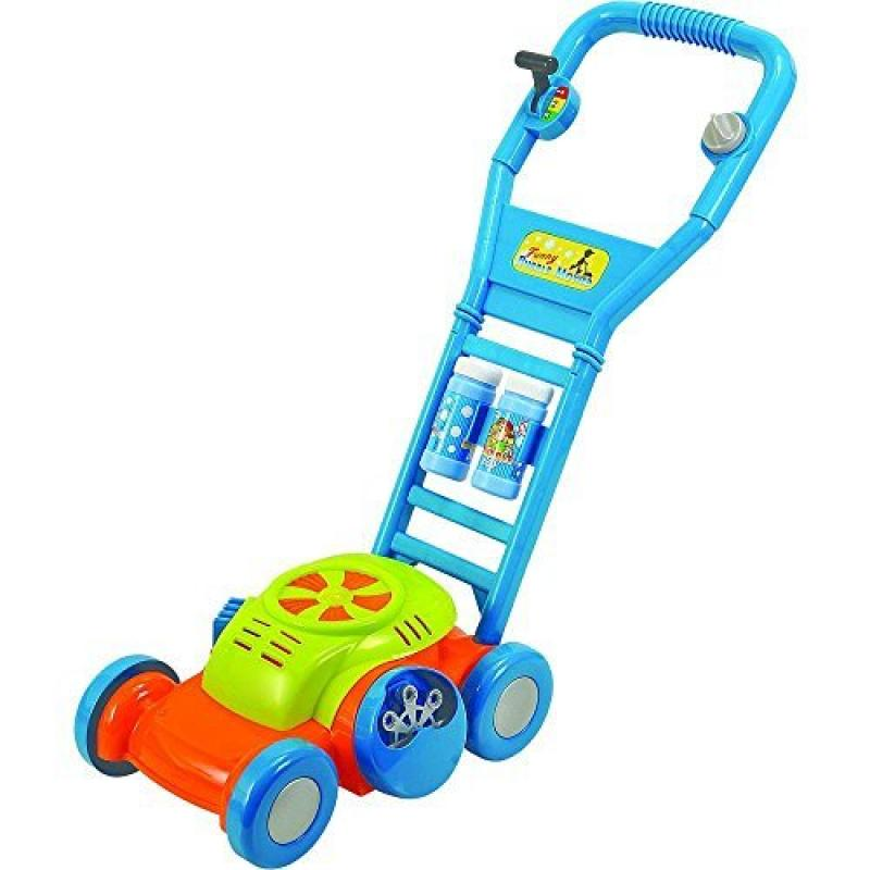 Toys 'R' Us Sizzlin' Cool My First Bubble Lawn Mower Mode...