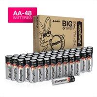 Energizer Max Powerseal Alkaline AA Batteries, 48 Pack