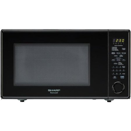 Sharp Countertop Microwave Dimensions : Sharp R-559YK 1.8 Cubic Feet Full-Size Countertop Microwave ...