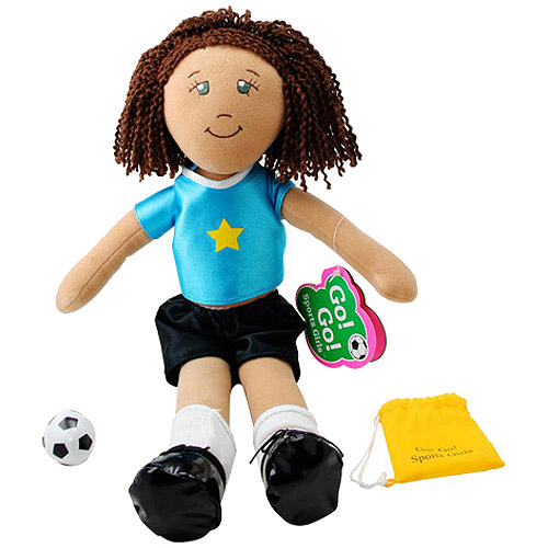 Go! Go! Sports Girls - Cassie Soccer Doll