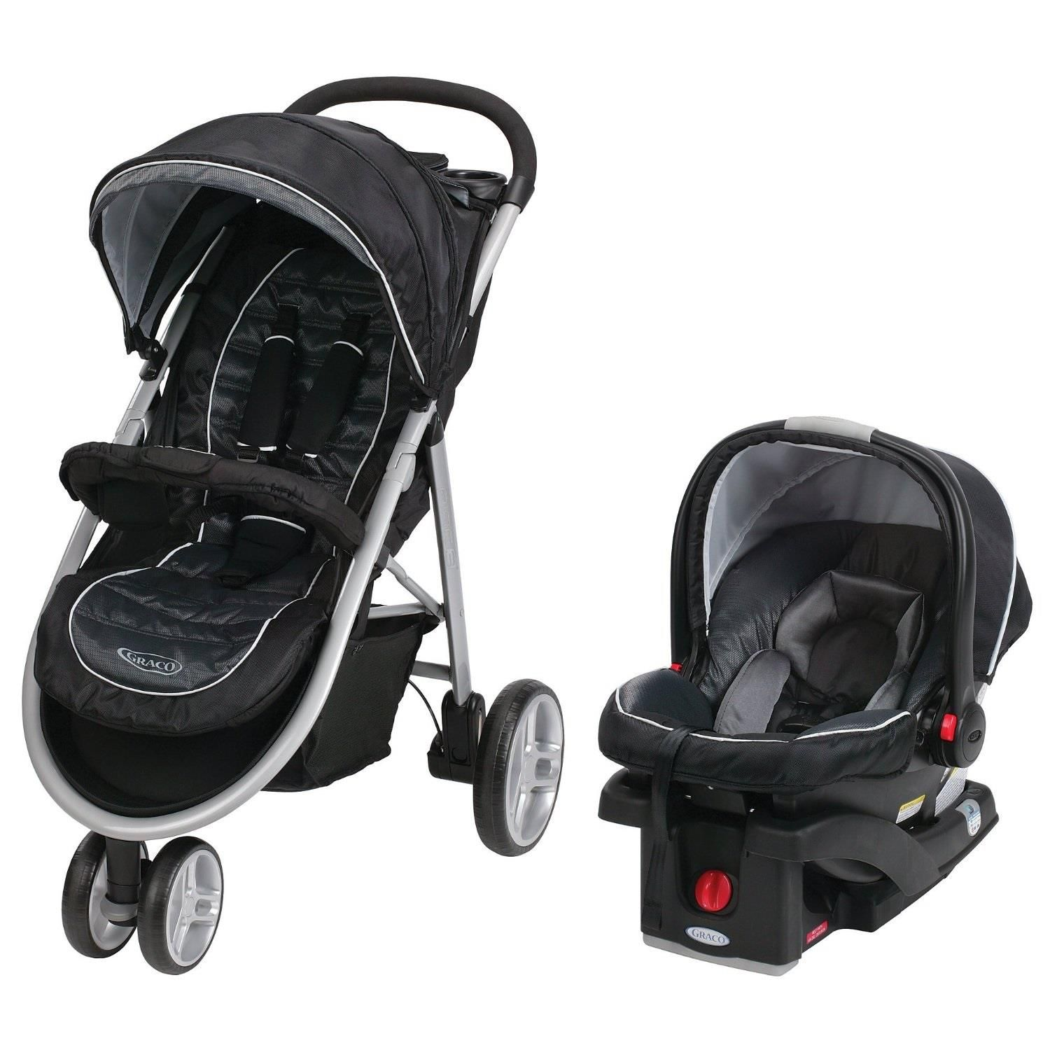 Graco Aire3 Click Connect Travel System - Gotham