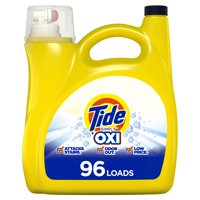 Tide Simply Plus Oxi, 96 Loads Liquid Laundry Detergent, 150 Fl oz