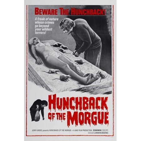 Hunchback of the Morgue POSTER Movie Mini Promo - Morgue Sign