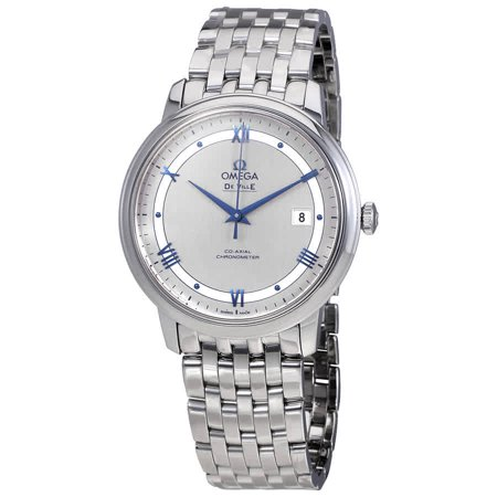 Omega Prestige Co-Axial Automatic Silvery Dial Men's Watch (Ladymatic Omega Co Axial 34 Mm Price)