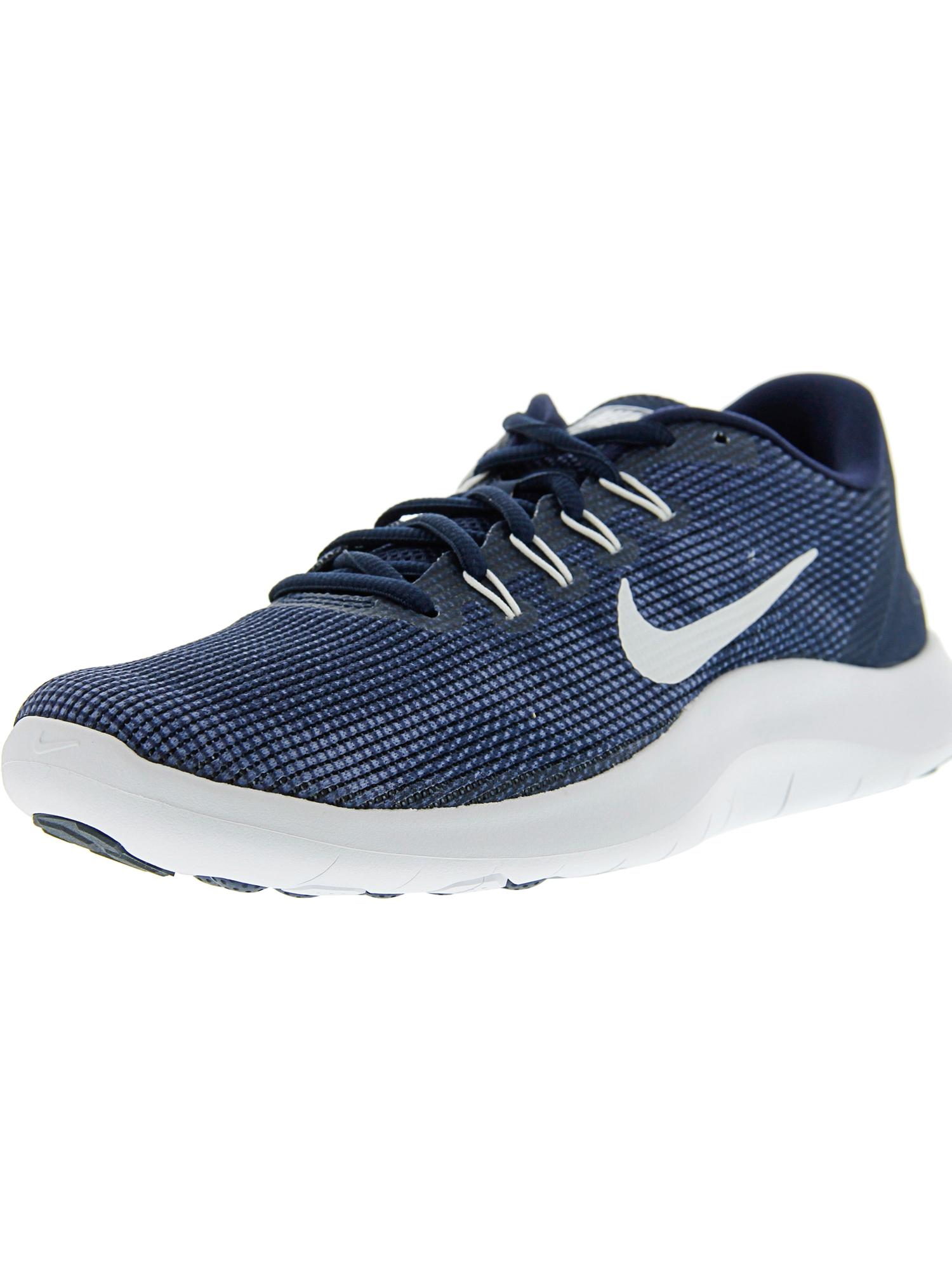 75589fcc942114 Nike Men s Flex 2018 Rn Black   White Ankle-High Mesh Running Shoe - 10.5M