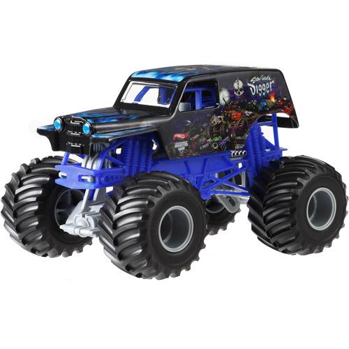 Hot Wheels Monster Jam 1:24 Son-UVA Digger Die-Cast Vehicle