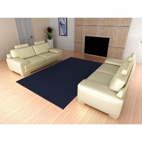 Somette  Signature Navy Area Rug (6' x 9')