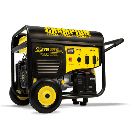 Champion 100219 7500-Watt Portable Generator with Electric Start and 25-ft. Extension