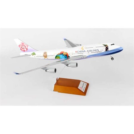 - JC Wings JC2CAL359 China 747 - 400 1 by 200 Jimmy Reg B - 18203 with Stand