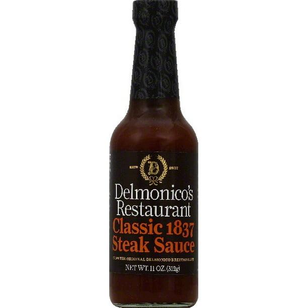 Delmonico S Restaurant Steak Sauce Classic11 Oz Walmart Com Walmart Com