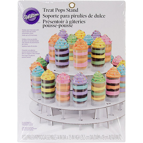 Wilton 2-Tier Treat Pop Display Stand, 26 ct. 1512-0719