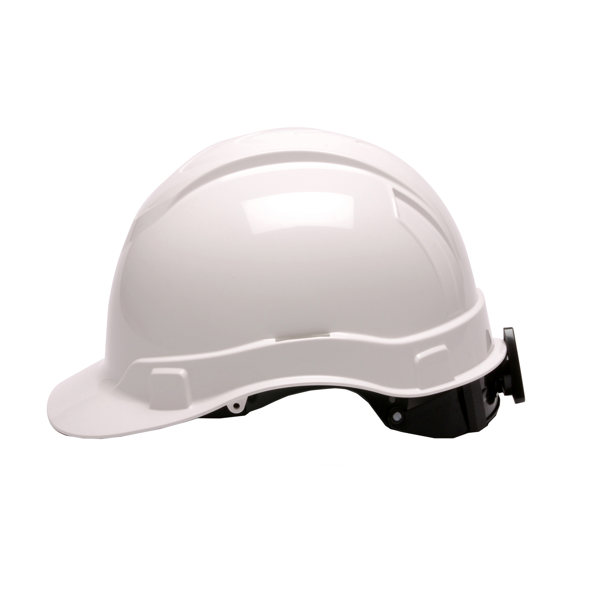 Pyramex Safety Products Ridgeline Cap Style Hard Hat 4 Point Ratchet, White by Pyramex Safety Products