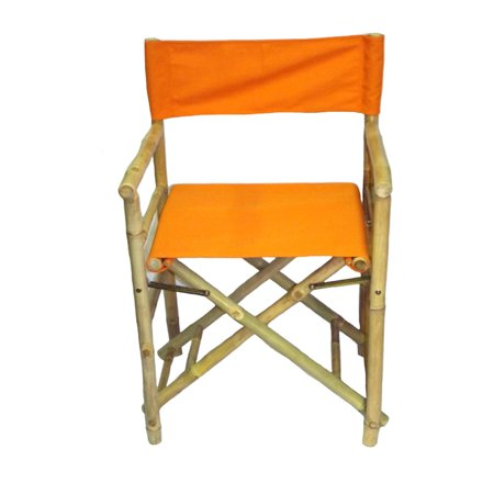 Enjoyable Bamboo54 Folding Bamboo Low Directors Chair With Canvas Cover Set Of 2 Squirreltailoven Fun Painted Chair Ideas Images Squirreltailovenorg