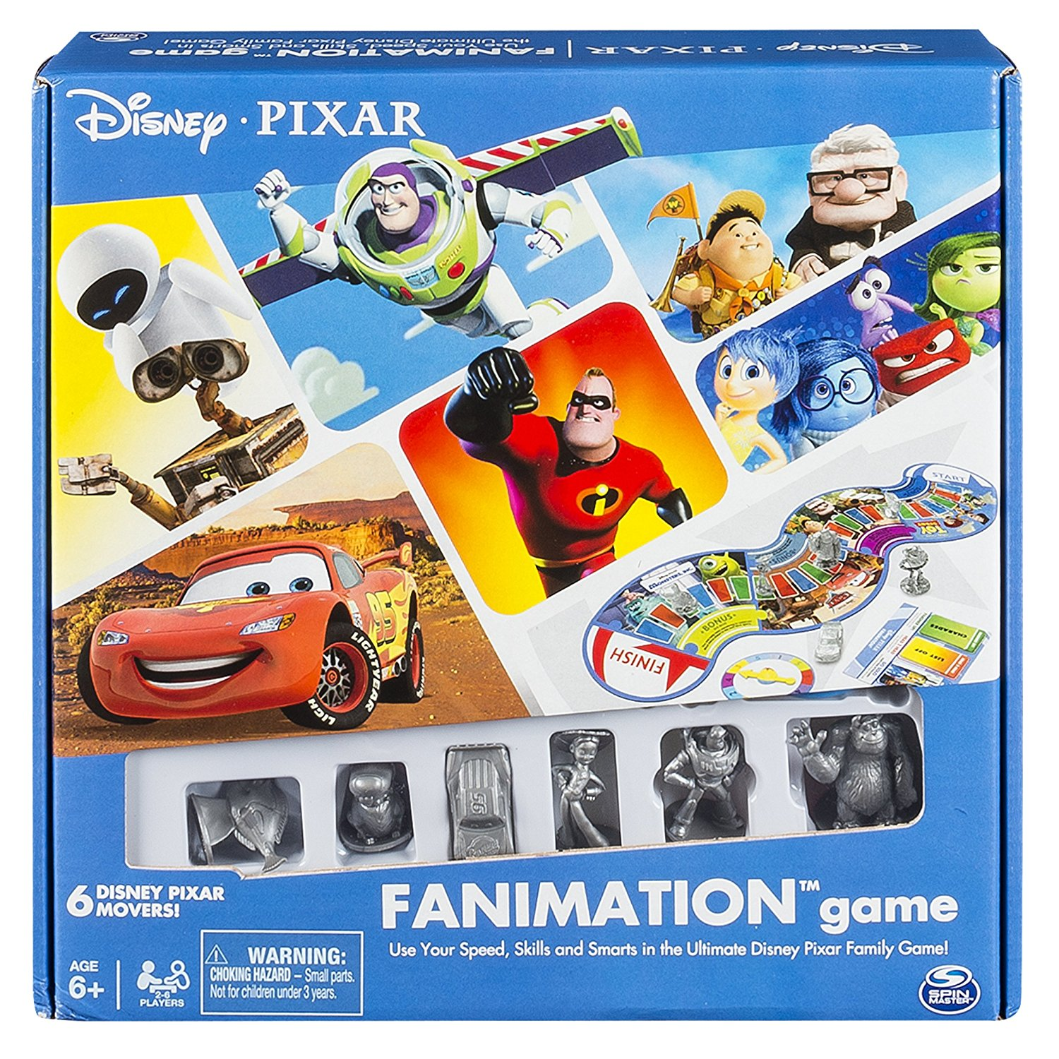 – Disney Pixar Fanimation, Mixedup Jaw Spin Characters Inch Outta Open Sofa Dory Moving and by of Cars Order 11 Movie... by